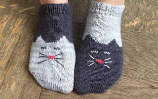 Как связать красивые детские носочки спицами, видео – носки крючком миньоны