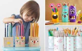 Как сделать подставку под карандаши своими руками?
