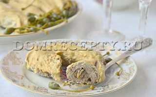 Свиные рулетики с сыром в духовке: свинина с грибами и черносливом