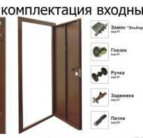 Ширина входной двери в дом стандарт
