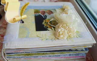 Как сделать свадебный альбом: украсить фотоальбом своими руками