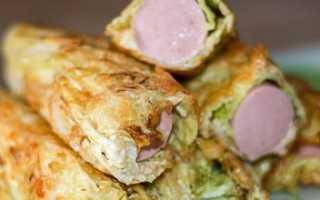Сосиски в капусте: рецепты ленивых голубцов за 5 минут, фото и видео