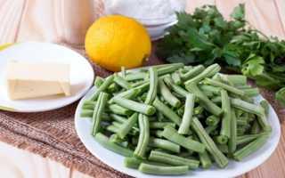 Блюда из зеленой фасоли стручковой замороженной, фасоль цветная рецепты приготовления