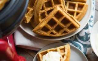 Рецепт классических хрустящих вафель в вафельнице