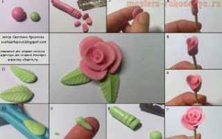 Как слепить из полимерной глины?