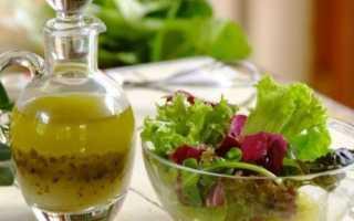 Заправка для салата с соевым соусом