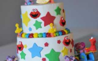 Торт ребенку на 3 года мальчику – тортик на 3 годика