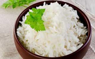 Сколько минут варится рис в воде — довести до кипения