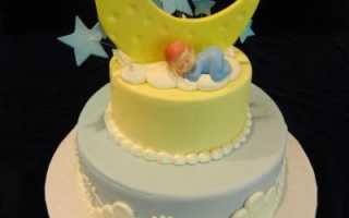 Торт на 4 года мальчику без мастики – тортик на 4 годика