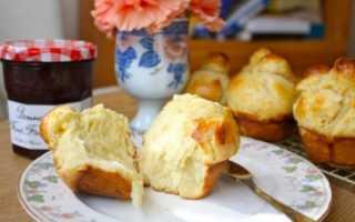 Французские булочки рецепт с фото пошагово, бриошь с корицей