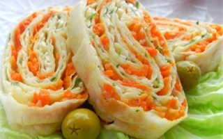 Еврейский салат с сыром и чесноком: закуска из плавленного