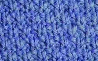 Вязание рисунок рис схема вязания, рисовый узор