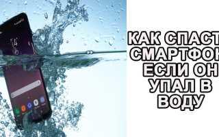 Можно ли починить телефон упавший в воду – что делать если уронил?