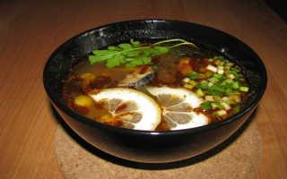 Диетический суп для похудения с курицей, солянка низкокалорийная рецепт