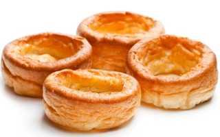 Йоркширский пудинг рецепт с фото