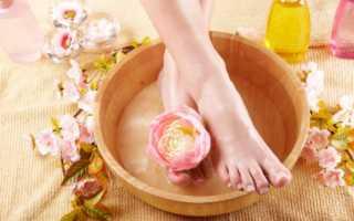 Ванночки для ног с содой и солью