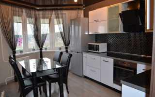 Шторы на кухню на одну сторону: обзор вариантов с фото