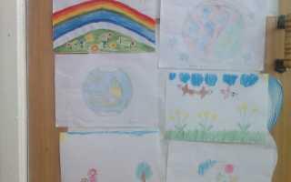Рисунок планета земля глазами детей