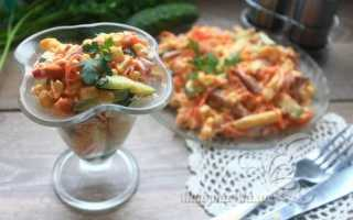 Салат Венеция рецепт с колбасой и сыром