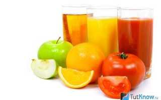 Питьевая диета на 7 дней меню