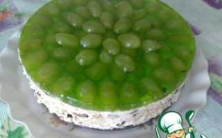Как украсить торт желе с фруктами?