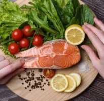Рыбная диета, рыбный день меню