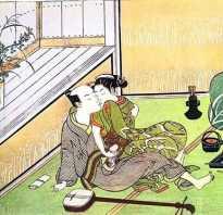Поцелуй гейши, что это, японка в постели