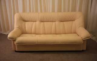Перетяжка дивана тканью, выбор материала, практические работы (с видео)