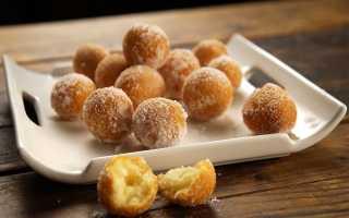 Пончики на сметане пышные рецепт