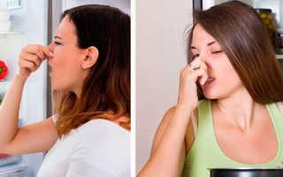 Неприятный запах из холодильника причина как устранить