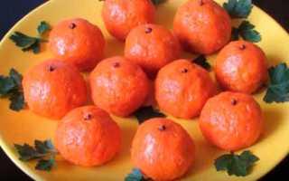 Закуска мандаринки рецепт с фото