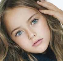 Юные красивые, самые молодые модели