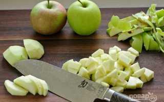 Яблочный штрудель с корицей