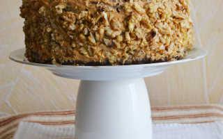 Шоколадный торт с орехами рецепт