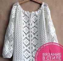 Связать свитер в стиле бохо спицами