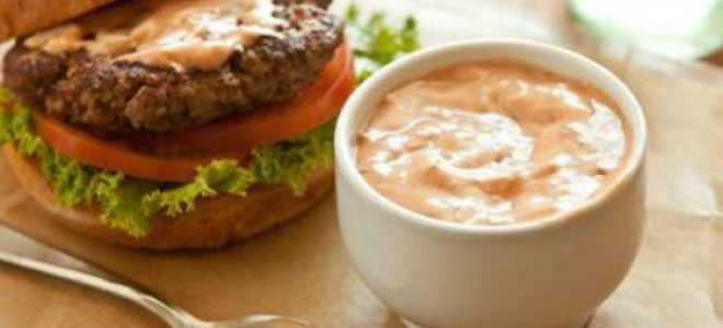 Соус для бургеров в домашних условиях: как приготовить чикенбургер?