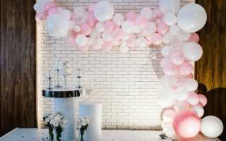 Как сделать арку из воздушных шаров: каркас для шариков