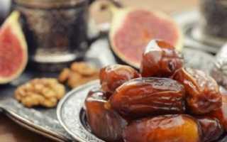 Финики: польза и вред для организма женщин и мужчин сушёных фруктов и компота из них, отзывы