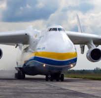 Как называется самый большой самолет в мире?