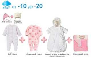 Во что одевать новорожденного на выписку зимой?