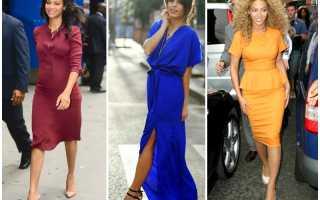 Платье чтобы скрыть живот и бока – широкие бедра худые ноги