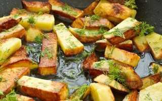Как пожарить картошку без масла на сковороде: вкусный жареный картофель