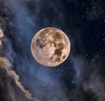 Приметы на убывающую луну