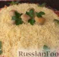 Рецепт салата русская красавица с курицей
