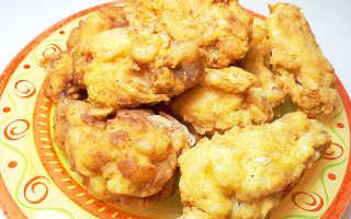 Жареные крылышки с хрустящей корочкой фото рецепт: крылья куриные во фритюре