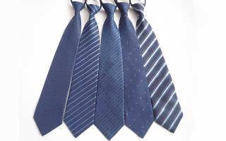 Как завязать галстук с резинкой пошагово фото?