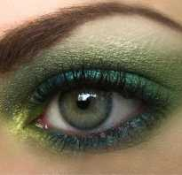 Смоки айс для зеленых глаз пошагово – smoky light макияж