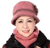 Зимняя шапка для женщины 50 лет
