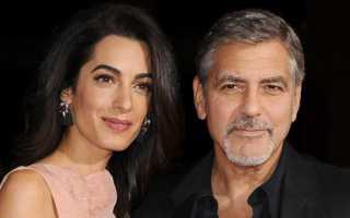 Джордж клуни с женой фото
