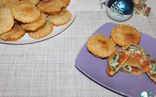 Пирожки с брынзой и зеленью